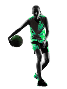 iStock basketball woman (green inverted)