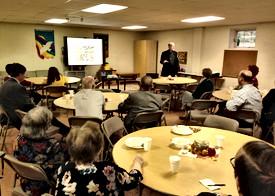 Rev. Bill Jerdan's Presentation at Covenant Chapel