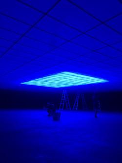 Blue Light Skybox