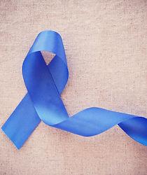 Blue ribbon, Colon Cancer, Colorectal Ca