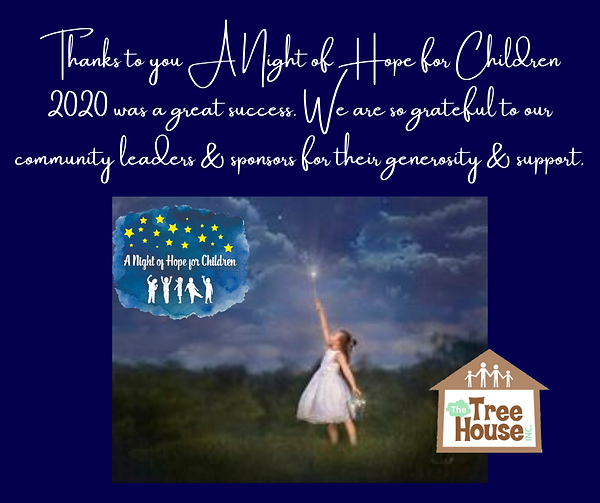 Thanks to you A Night of Hope for Childr