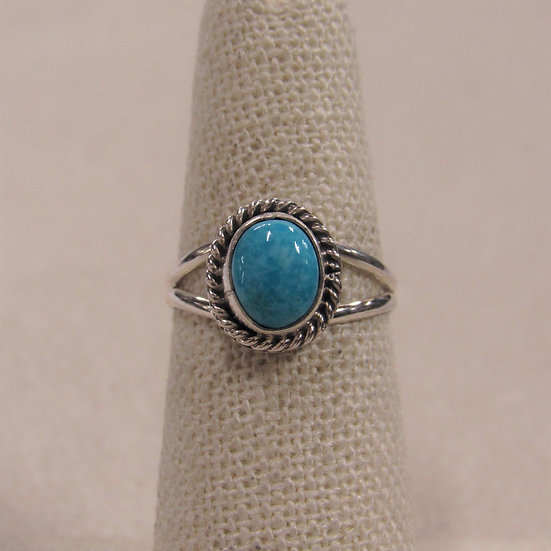 Sterling Silver and Turquoise Ladies Ring by Jan Mariano