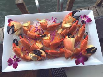 Fresh Florida Stone Crabs