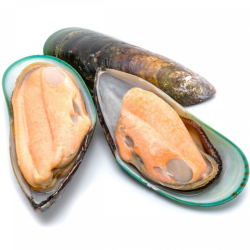Green Shell Mussels ( 2 pounds per box)