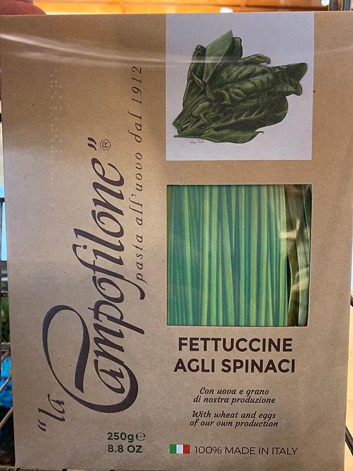 Pasta Fettuccine Algli Spinaci