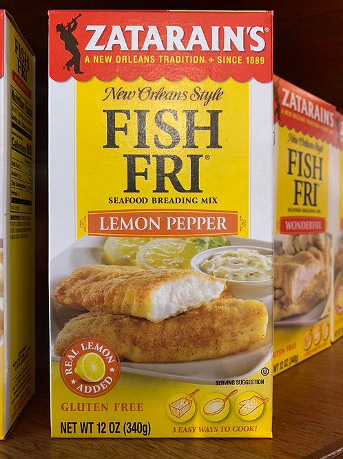 FISH FRI (lemon pepper)