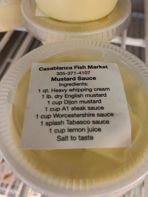 Moustard sauce