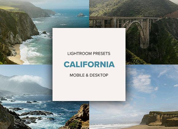 CALIFORNIA presets