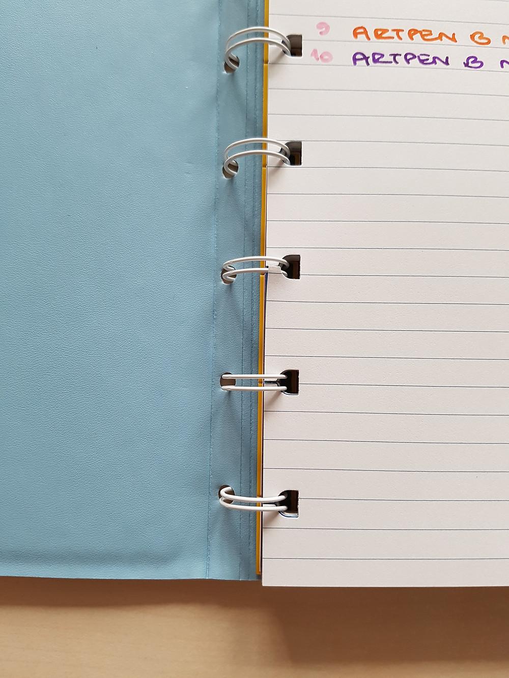 StickersSwissMade - blogpost - paper and pen test nbr 3 - filofax notebooks_3