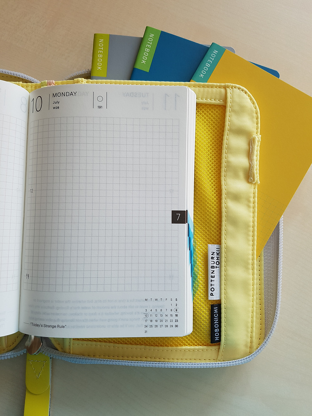 StickersSwissMade - blogpost - planner peace part 2 - Hobonichi Cousin and William Hannah discound notebook-2