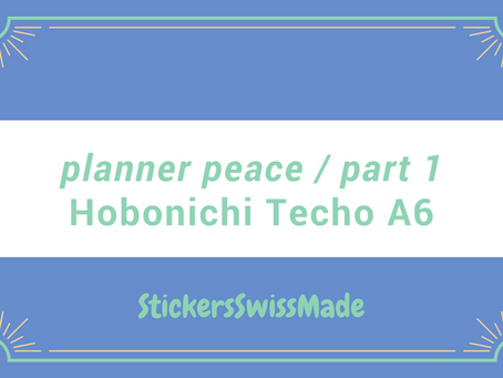 """Planner Peace?"" - can this be achieved with a Hobonichi Techo Planner in A6 size?"