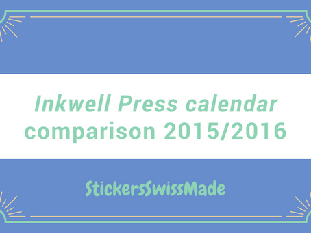 comparison of inkWELL press planner of 2015/2016