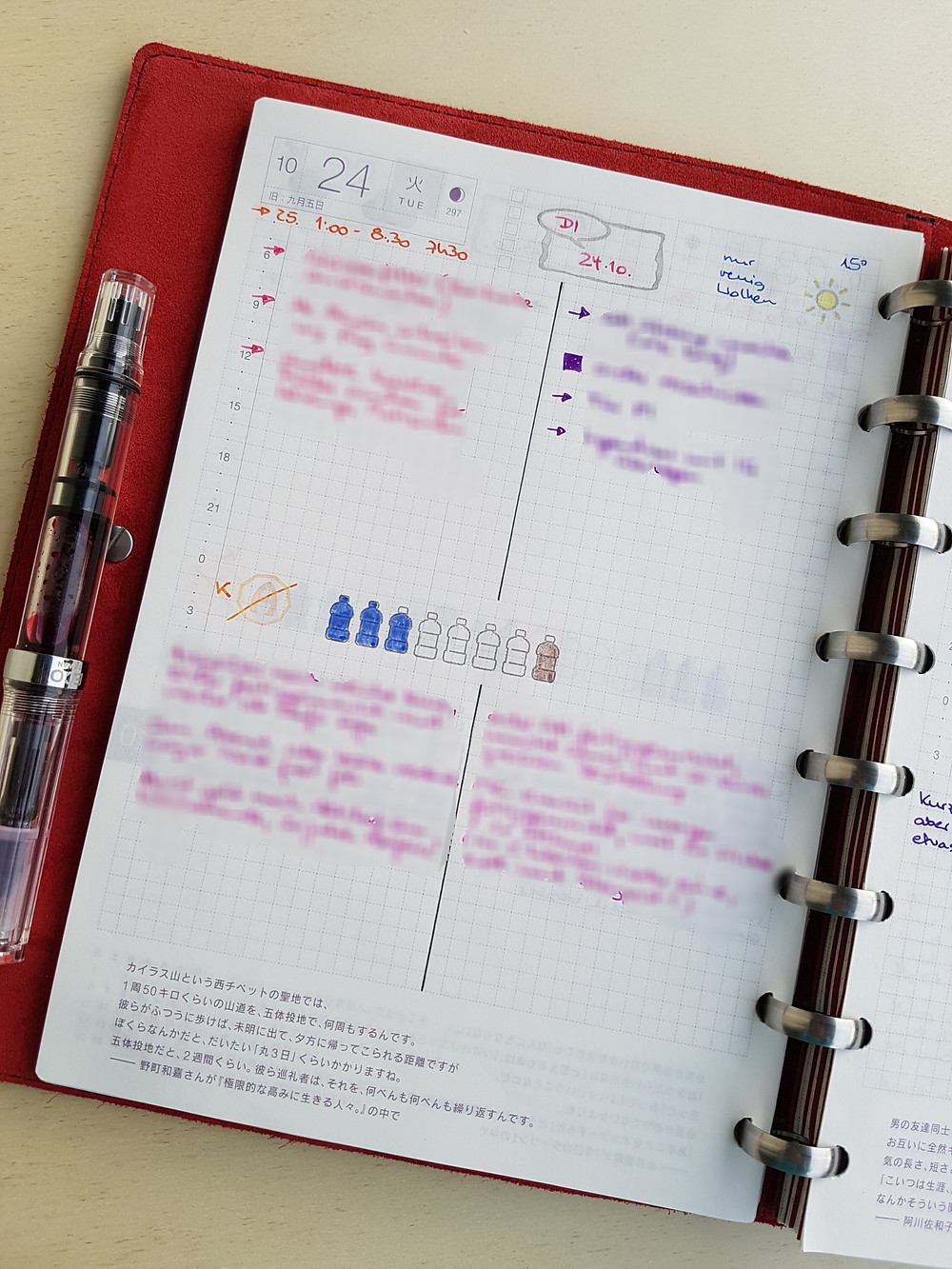 StickersSwissMade - blogpost - planner peace part 2 - Hobonichi Cousin and William Hannah discound notebook-6