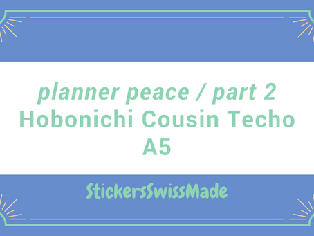 """""""planner peace"""" - part 2 of my journey with a Hobonichi planner"""
