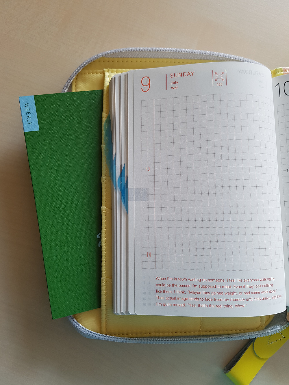 StickersSwissMade - blogpost - planner peace part 2 - Hobonichi Cousin and William Hannah discound notebook-3
