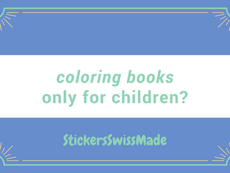 coloring books - only for children?