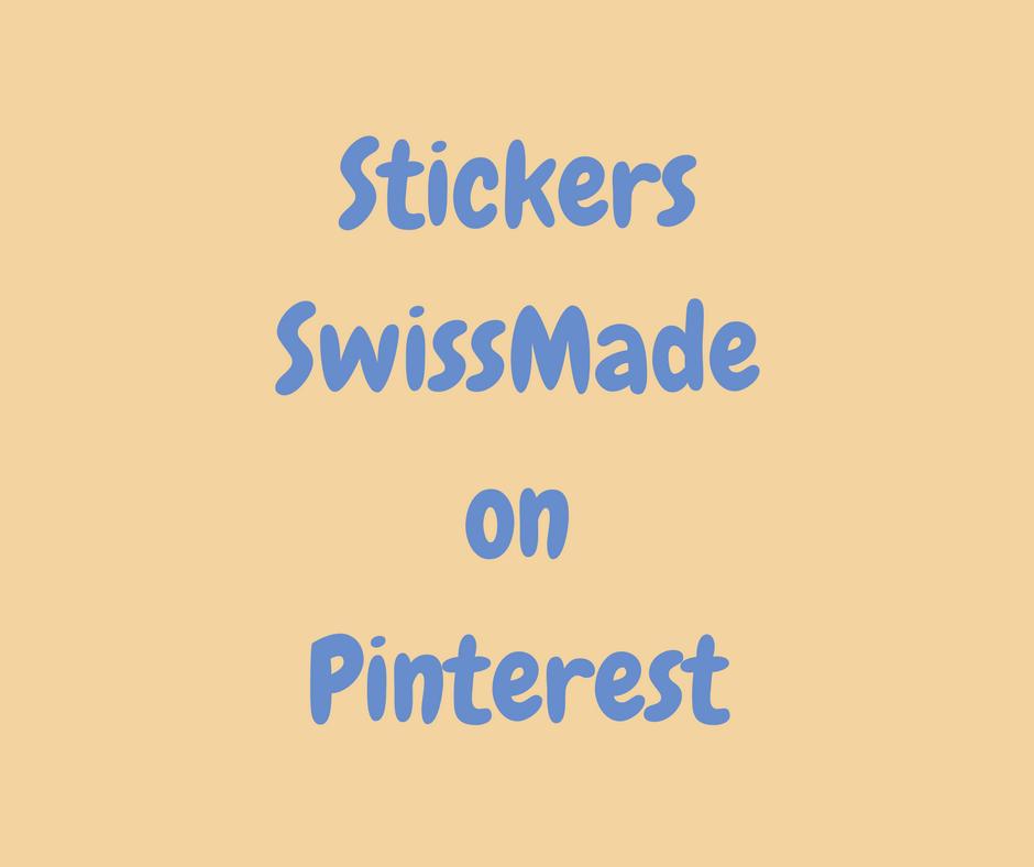 StickersSwissMade on Pinterest