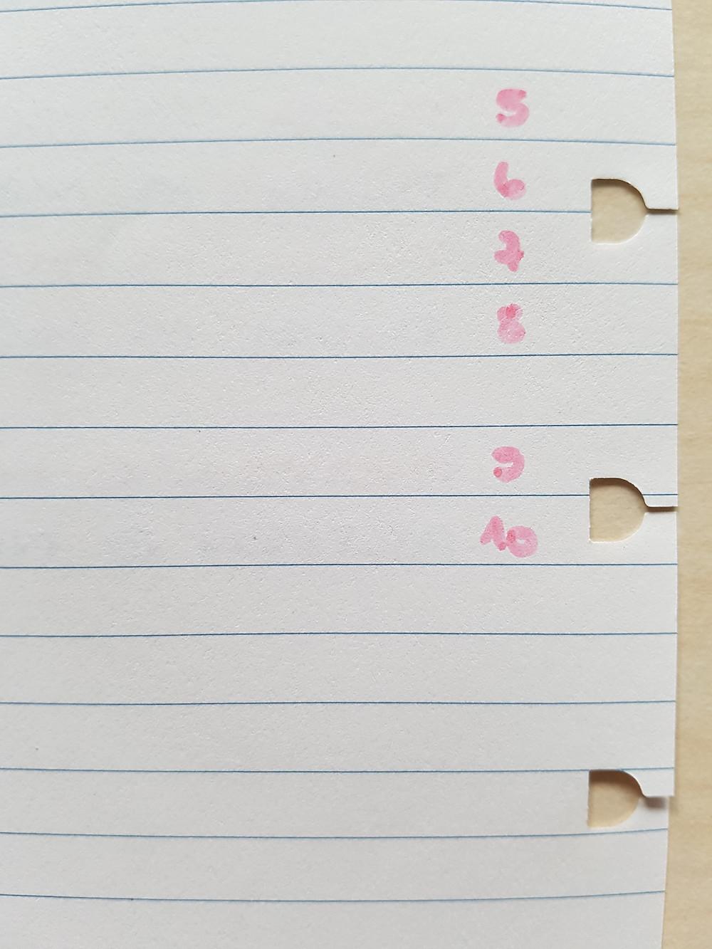 StickersSwissMade - blogpost - paper and pen test nbr 3 - filofax notebooks_9