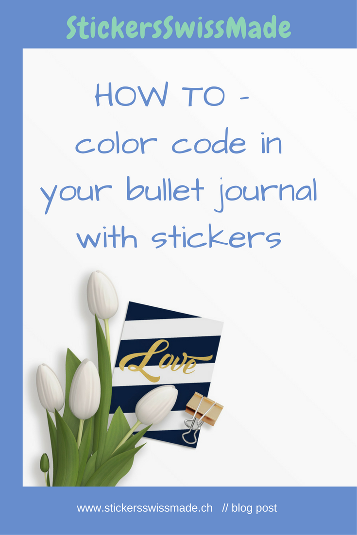 StickersSwissMade - bullet journal + color coding - blog _1