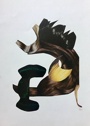 Untitled 5, Hair, year
