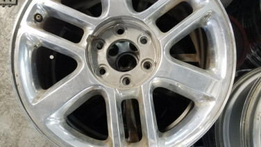 Ford Before Polished