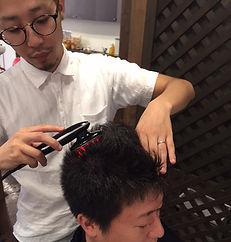 発毛促進ケア、発毛促進、発毛、エミューテ、美容室、美容院、スカルプマシン、ドクタースカルプ、育毛