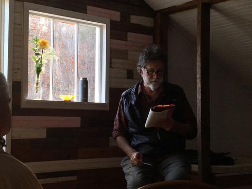 John Lane reading from Anthropocene Blues