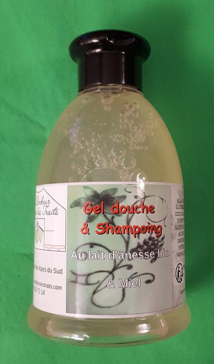 Gel douche et shampoing