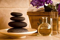 Essential oils & Hot Stones