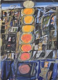 Sunset in 25th Street (c. 1960)