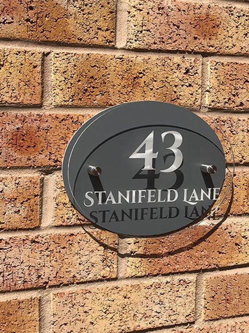 Personalised GreyHouse Plaque