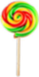 A Red and Yellow Lollypop