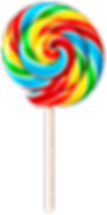 A multicoloured Lollypop