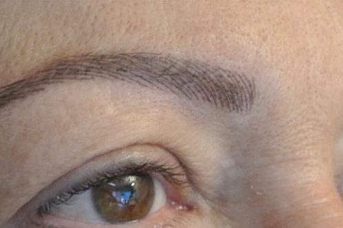 Cours de perfectionnement sourcils poil à poil sur 1 jour