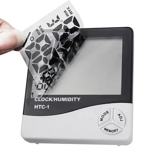 Hygromètre, température, réveil et heure électronique LCD