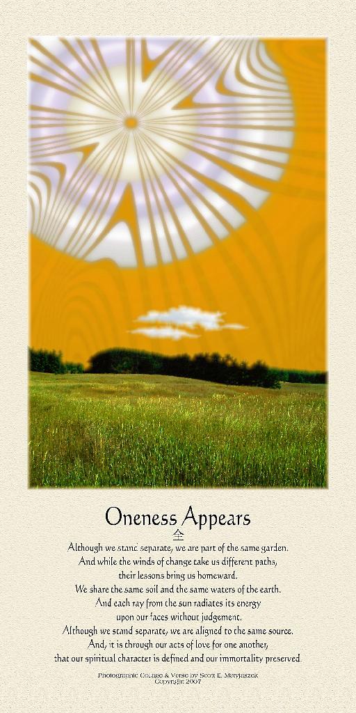 Oneness Appears