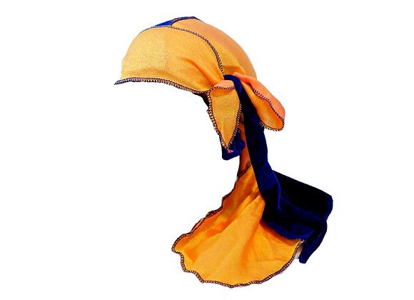 Two-Tone Blue & Orange