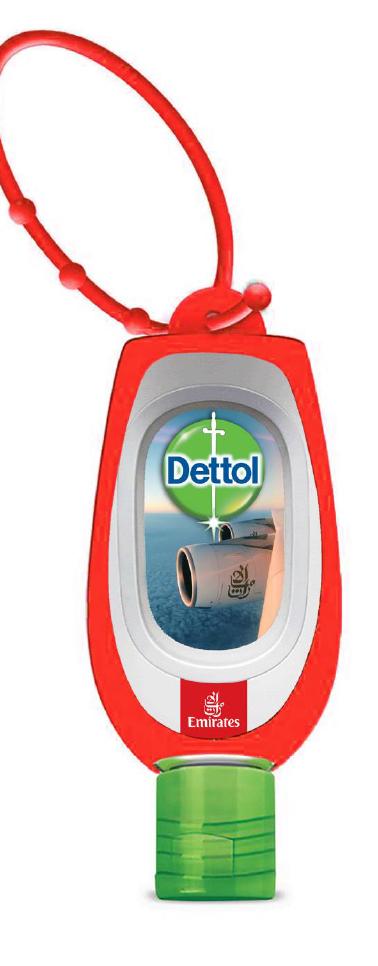 Dettol + Emirates