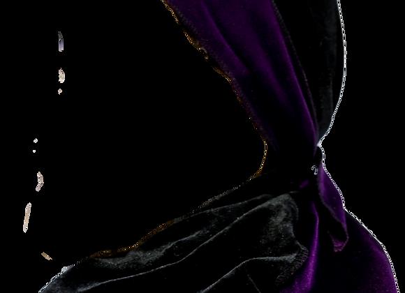 Two-Tone Black & Purple