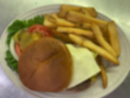 Green Chili Cheese Burger w_ Fries.JPG