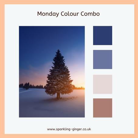 Colour Combo Monday - Evening Blues