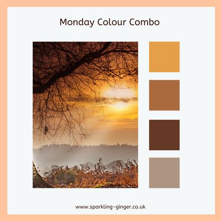 Monday Colour Combo - Autumn Walk