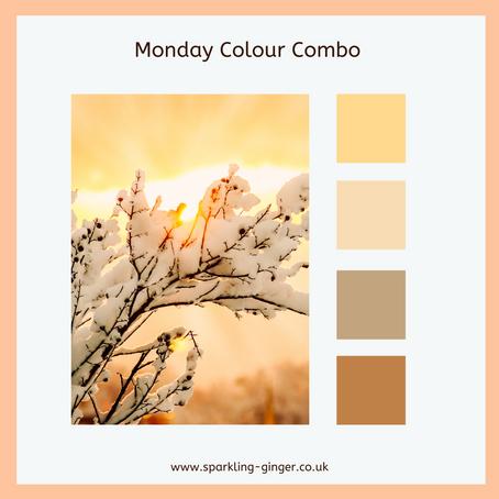 Colour Combo Monday - Soft Caramel