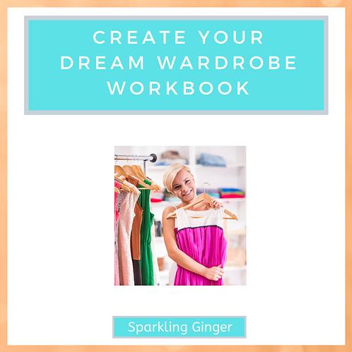 'Create Your Dream Wardrobe' Workbook