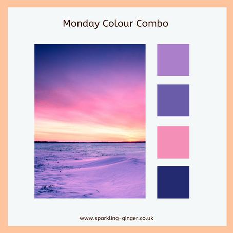 Colour Combo Monday - Purple Skies