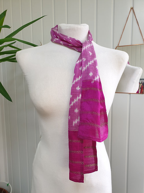 Pink Scarf / Headscarf (WIN, SUM)