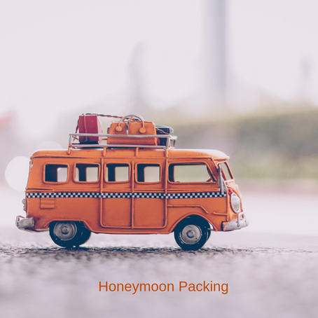 Holiday and Honeymoon Packing