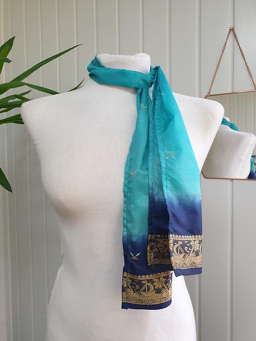 Turquoise Scarf / Headscarf (WIN, SUM, SPR, AUT)