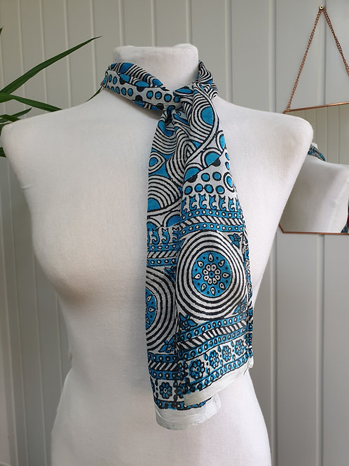 Blue Scarf / Headscarf (WIN, SUM)