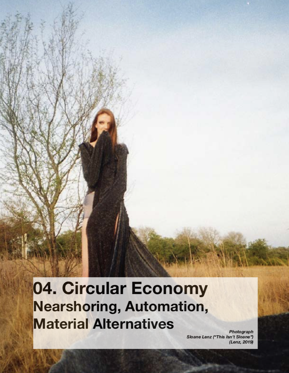 Illustrated Report: Creative Sustainability (Material Revolution)